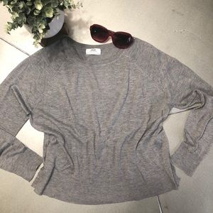 🌟- ZARA KNITWEAR-long sleeve lightweight swea…